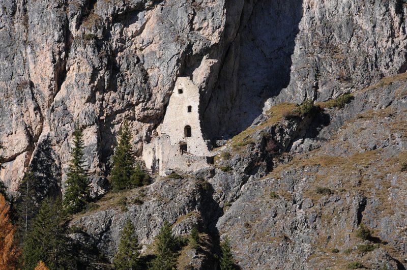 Rovine Castello Wolkenstein