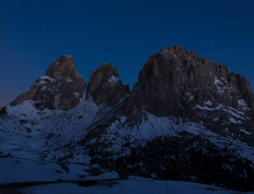 Night-time adventures to experience in the Dolomites in Winter
