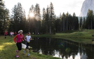 jogging e running in Val Gardena estate