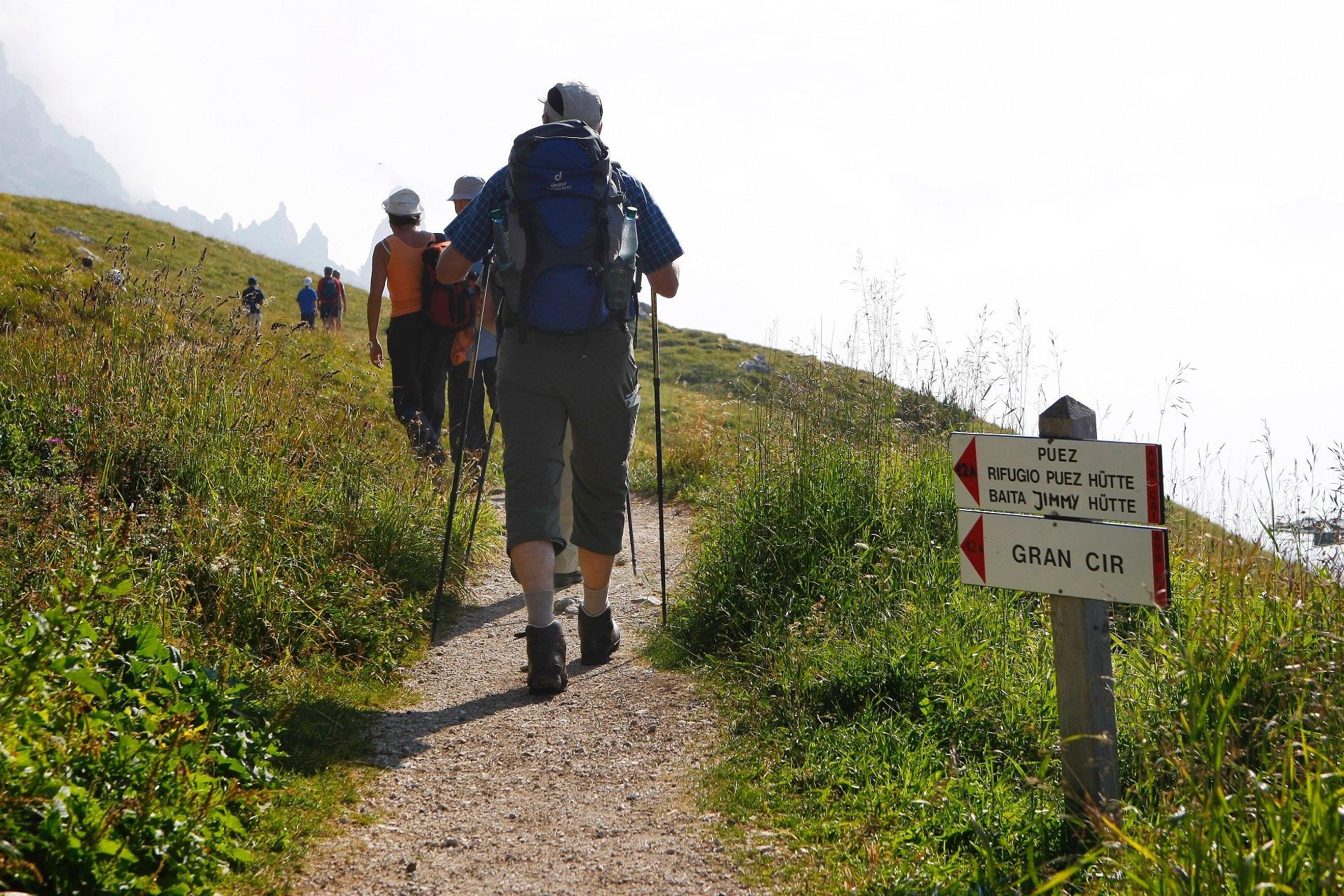 val gardena guida trekking escursioni estate