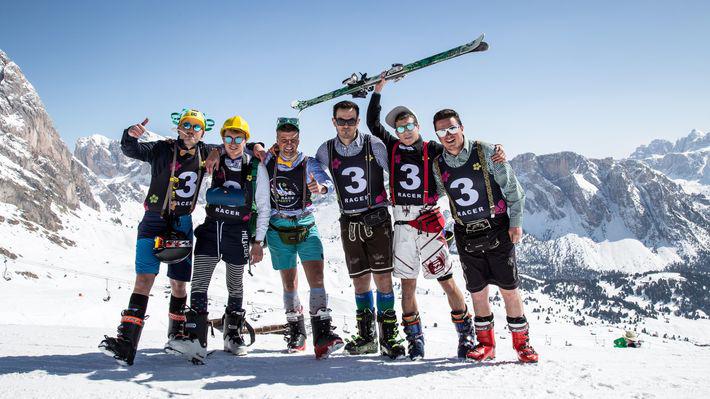 Marzo 2019 sulla neve l'inverno continua in Val Gardena