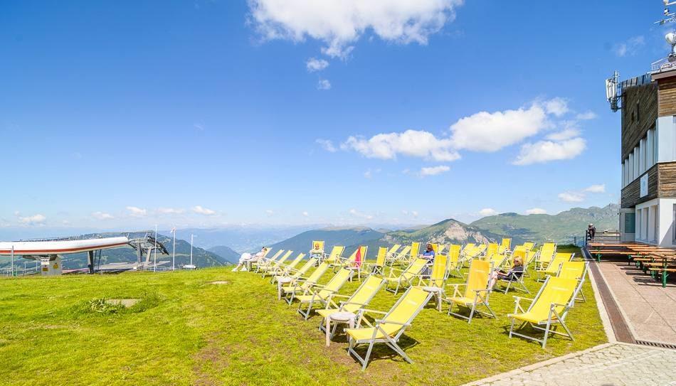 Punto panoramico stazione ciampinoi Val Gardena