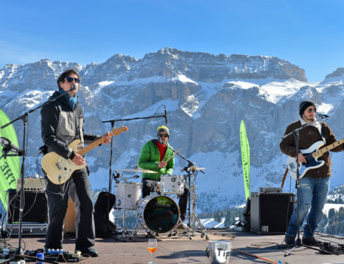 Rock music is coming to Val Gardena