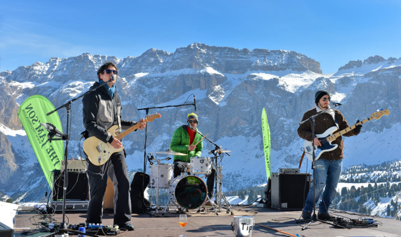 music festival in Val Gardena March 2018 mountains