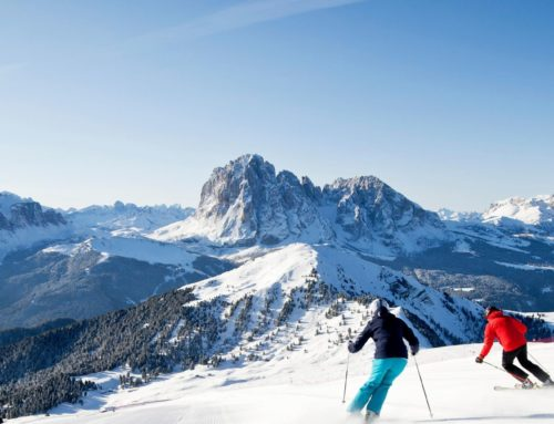 Slopes and lifts in Dolomites Val Gardena 2019