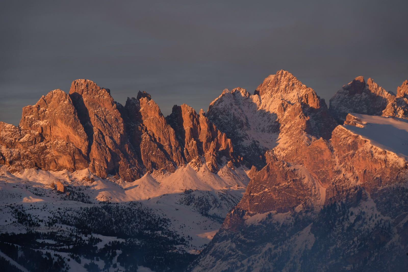 Tramonto in Val Gardena 2