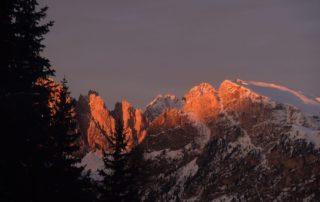 Tramonto in Val Gardena