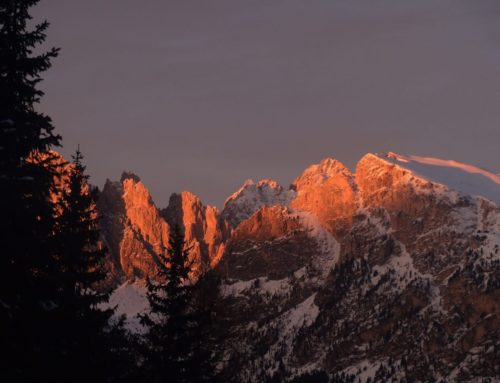 The enchanting beauty of the Dolomites' Alpenglow