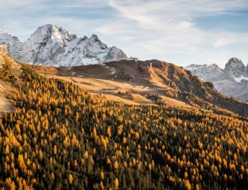 The magic of Autumn in the Dolomites