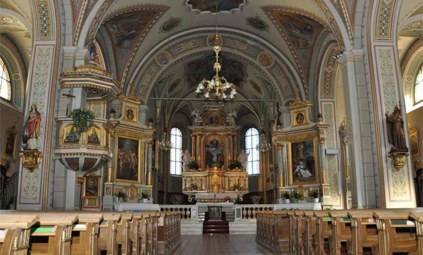 concerto di Pasqua chiesa S. cristina val gardena coro e orchestra parrocchiale