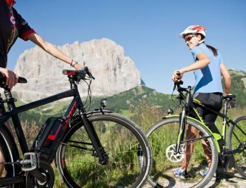 Quest'estate esplora la Val Gardena con l'E-Bike